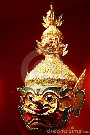 Yaksha Mask From Thailand
