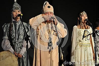 Yakut folklore Editorial Photo