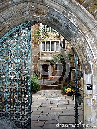 Free Yale Gates Royalty Free Stock Image - 167206
