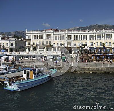 Yalta, Crimea Editorial Photo