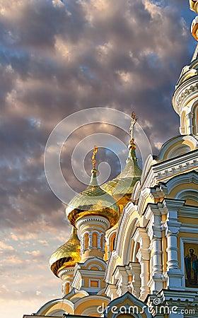 Yalta orthodox cathedral
