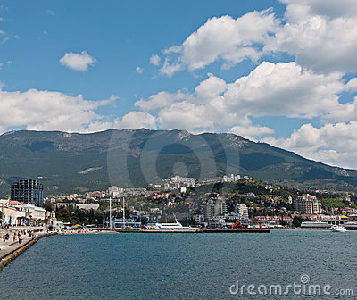 Yalta Port Royalty Free Stock Photo - Image: 20128005