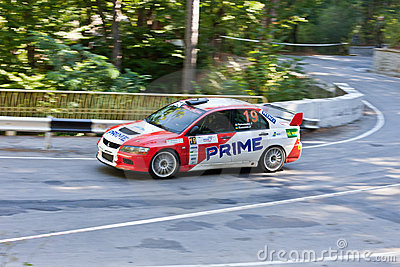 Yalta Prime Rally 2010 in Ukraine Editorial Photography