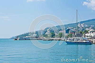 Yalta seafront