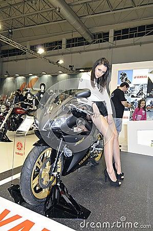 Yamaha team Editorial Photography