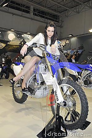 Yamaha team Editorial Stock Photo
