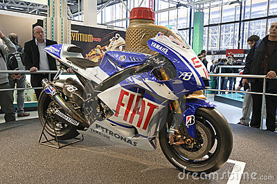 Yamaha YZR-M1 2010 Editorial Image