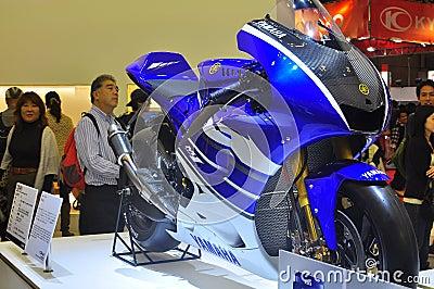 Yamaha YZR-M1 Tokyo Motor Show Editorial Stock Photo