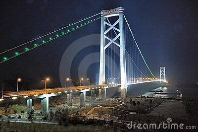 Yangluo Bridge Editorial Photography