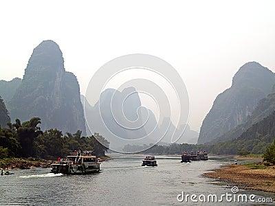 Yangshuo cruise 1