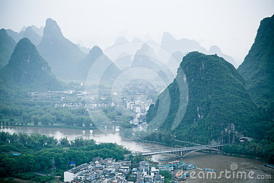 Yangshuo Scenery Royalty Free Stock Images - Image: 24551829