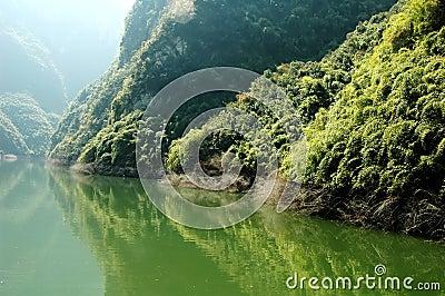 Yangtze river scene