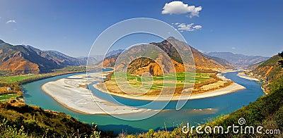 Yangtze river scenic