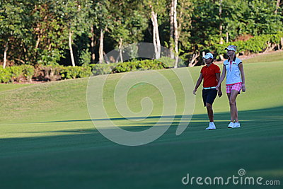 Yani Tseng in Taiwan LPGA Championship Editorial Image
