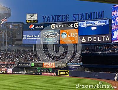 Yankee Baseball Stadium New York City