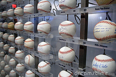 Yankee Stadium Museum - New York Editorial Stock Photo