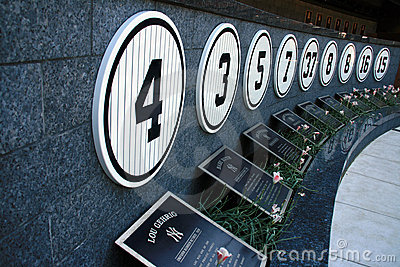 Yankee Stadium Museum - New York Editorial Stock Image