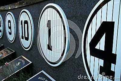 Yankee Stadium Museum - New York Editorial Photo
