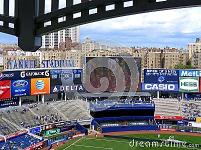 Yankee Stadium Editorial Stock Image
