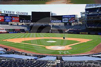 Yankee Stadium - New York Editorial Stock Photo