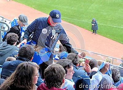Yankee Stadium Vendor Editorial Image