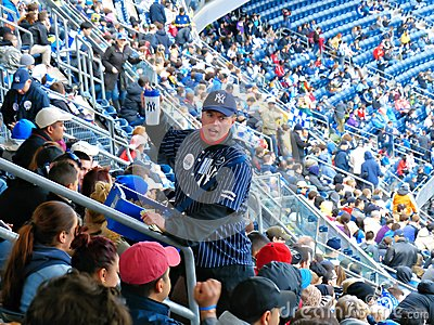 Yankee Stadium Vendor Editorial Image