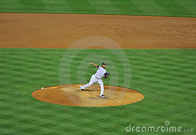 Yankees pitcher Ivan Nova on the mound Editorial Stock Photo