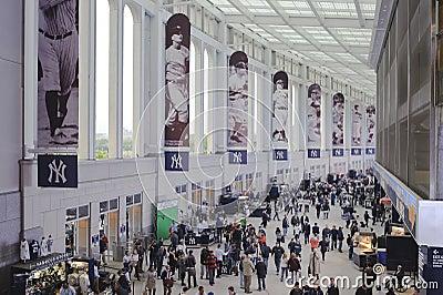 Yankees stadium promenade Editorial Photo