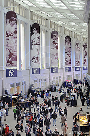 Yankees stadium promenade Editorial Stock Photo