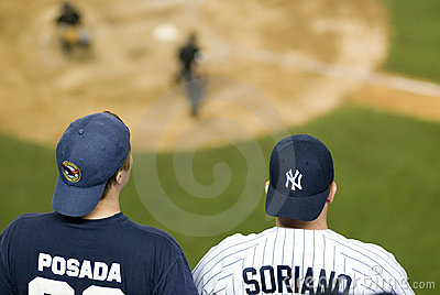 Yankees vs Toronto Blue Jays Editorial Stock Photo