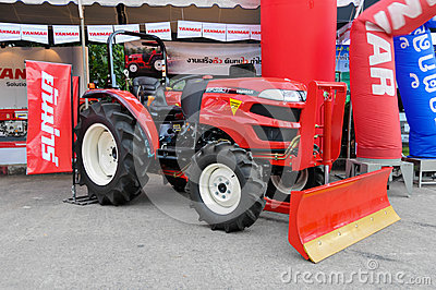 The YANMAR EF393T tractor Editorial Photography