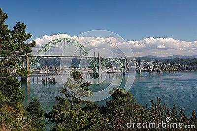 Yaquina bay bridge newport, oregon
