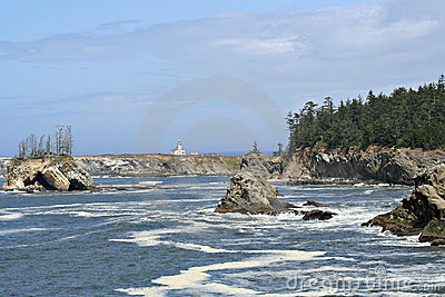 Yaquina Lighthouse, Oregon coast