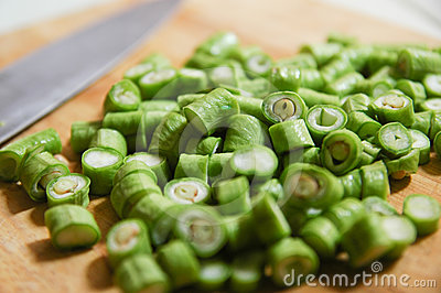 Yard Long Bean sliced