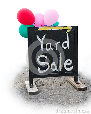 Yard Sale Garage Sale Sign