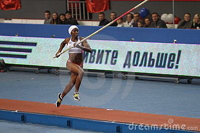 Yarisley Silva - Cuban pole vaulter Editorial Stock Image