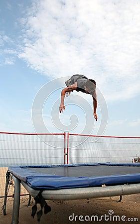 Yarmouth trampoline