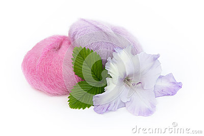 Yarn and Gladiolus