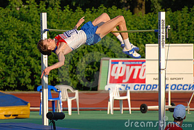 Yaroslav Rybakov high jump Editorial Image