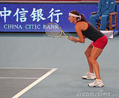 Yaroslava Shvedova (KAZ), tennis player Editorial Image