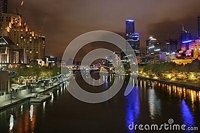 Yarra River Southbank Melbourn