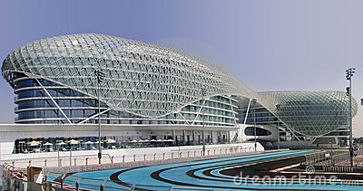 Yas Hotel and Yas Marina Circuit