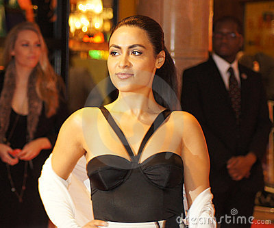 Yasmine Elmasri At The Miral Premiere Editorial Photo