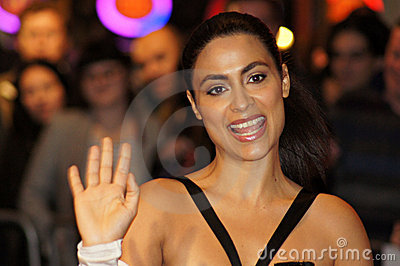 Yasmine Elmasri At The Miral Premiere Editorial Stock Photo