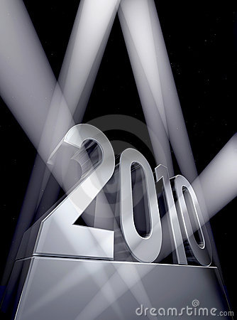 Free Year 2010 Royalty Free Stock Image - 10982016