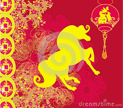 Year of Horse  - Happy Chinese New Year