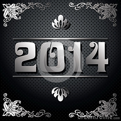 2014 Year illustration