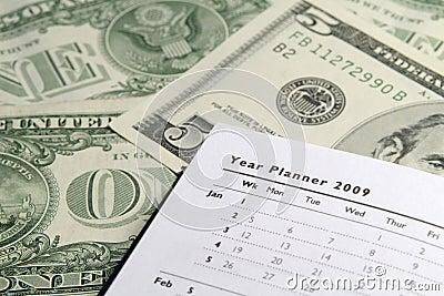 Year Planner on Dollars