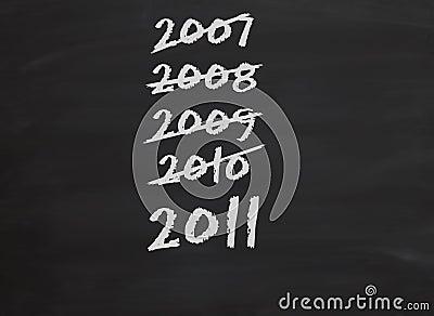 Years passing