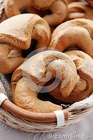 Yeast cinnamon croissant